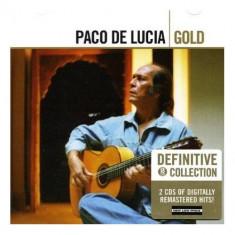 Paco De Lucia - Gold ( 2 CD ) - Muzica Latino