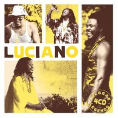 Luciano - Reggae Legends ( 4 CD ) - Muzica Reggae