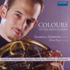 Zempleni/Nagy - Colours Of The French Horn ( 1 CD ) - Muzica Clasica