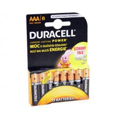 Aproape nou: Baterie alcalina Duracell AAA sau R3 cod 81417139 blister cu 8bc - Baterie externa
