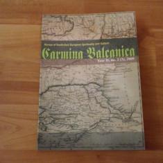 CARMINA BALCANICA-REVIEW OF SOUTH-EAST EUROPEAN SPIRITUALITY AND CULTURE