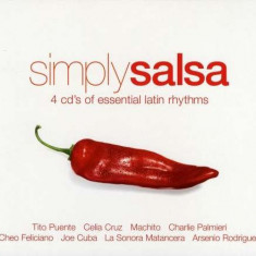 V/A - Simply Salsa ( 4 CD ) - Muzica Latino