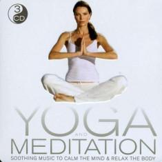 Artisti Diversi - Yoga / Meditation ( 3 CD ) - Muzica Ambientala