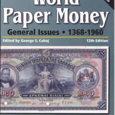CATALOG WORLD PAPER MONEY 1368 - 1960 NOU CU CD INCLUS !!