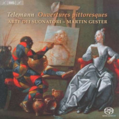 G.P. Telemann - Ouvertures Pittoresques ( 1 CD ) - Muzica Clasica