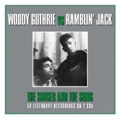 Woody Vs. Rambli Guthrie - Singer and the Song ( 2 CD ) - Muzica Folk