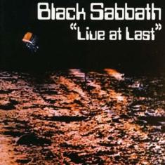 Black Sabbath - Live At Last ( 1 CD ) - Muzica Rock