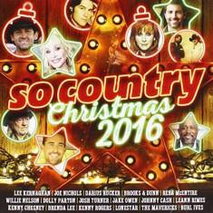 V/A - So Country Christmas 2016 ( 2 CD ) - Muzica Sarbatori
