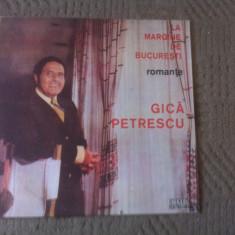 Gica Petrescu la margine de bucuresti romante abum disc vinyl lp muzica populara