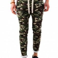 Pantaloni de trening camuflaj - COLECTIE NOUA - pantaloni barbati - 7905, Marime: S, M, L, XL, Culoare: Din imagine