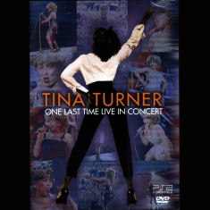 Tina Turner - One Last Time Live in Concert ( 1 DVD )