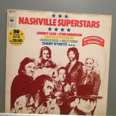 NASHVILLE SUPERSTARS:J.CASH, K.KRISTOFFERSON(1975/CBS REC/HOLLAND) -Vinil/Country - Muzica Country Columbia