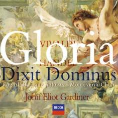 Vivaldi/Handel - Gloria/ Dixit Dominus ( 1 CD ) - Muzica Clasica