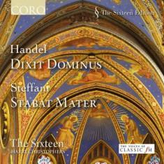 Handel/Steffani - Dixit Dominus HWV 232/Stabat Mater ( 1 CD ) - Muzica Clasica