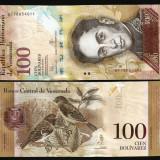 Venezuela - 100 bolivares 2015 UNC