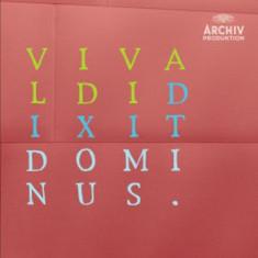 Vivaldi/ Galuppi - Dixit Dominus/ Laetatus Su ( 1 CD ) - Muzica Clasica