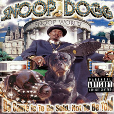 Snoop Dogg - Da Game Is to Be Sold, Not to Be Told ( 1 CD ) - Muzica Pop