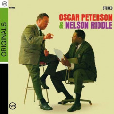 Oscar/ Riddle, N Peterson - Oscar Peterson& Nelson.. ( 1 CD ) - Muzica Jazz