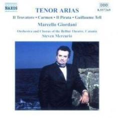 Marcello Giordani - Tenor Arias ( 1 CD ) - Muzica Clasica