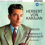 Herbert von Karajan - Sibelius: Symphony No.2 ( 1 SACD ) - Muzica Clasica