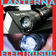 Lanterna electrosoc metalica autoaparare