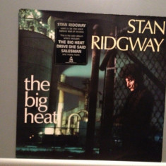 STAN RIDGWAY - THE BIG HEAT (1985/CBS REC/HOLLAND) - VINIL/VINYL/ROCK/IMPECABIL - Muzica Rock Columbia