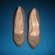 PANTOFI DE DAMA ELEGANTI TULIPANO ORIGINALI - Pantof dama, Culoare: Din imagine, Marime: 40, Cu toc
