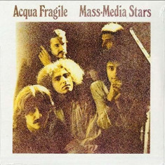 Acqua Fragile - Mass Media Stars ( 1 VINYL ) - Muzica Rock