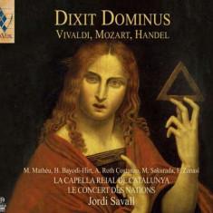 Vivaldi/Mozart/Handel - Dixit Dominus -Sacd- ( 1 CD ) - Muzica Clasica