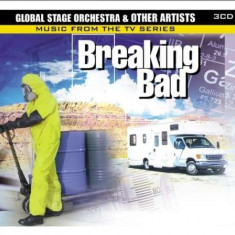 Global Stage Orchestra - Breaking Bad:Music From.. ( 3 CD ) - Muzica Pop