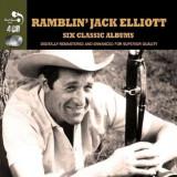 Ramblin' Jack Elliott - 6 Classic Albums ( 4 CD )