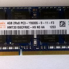 Ram laptop Hynix 4GB 10600 DDR3 1333Mhz HMT351S6CFR8C-H9 PC 1.5V Sodimm, 4 GB, 1333 mhz