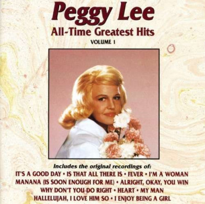 Peggy Lee - All-time Greatest Hits 1 ( 1 CD ) foto