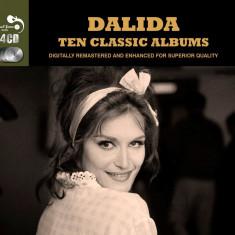 Dalida - Ten Classic Albums ( 4 CD ) - Muzica Ambientala