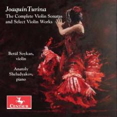 J. Turina - Complete Violin Sonatas & ( 1 CD )