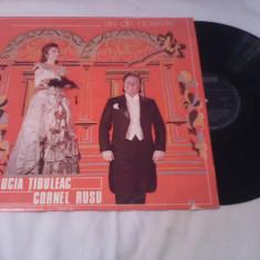 DISC VINIL LUCIA TIBULEAC/CORNEL RUSU-ARII DIN OPERETE ECE 01707 STARE EXCELENTA - Muzica Opera