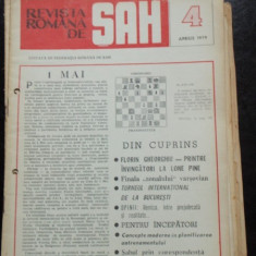 REVISTA ROMANA DE SAH NR.4/APRILIE 1979
