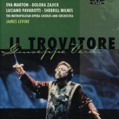 Eva Marton, Dolora Zanck, Luciano Pavarotti, Sherrill Milnes, James Levine, The Metropolitan Opera - Giuseppe Verdi -... - Muzica Opera