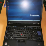 "Laptop IBM Thinkpad T60 14"" Intel Core 2 Duo 1.83 GHz, 2 GB DDR2, 120 GB HDD - Laptop Lenovo, Windows 7"