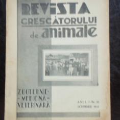 REVISTA CRESCATORULUI DE ANIMALE NR.10/1933