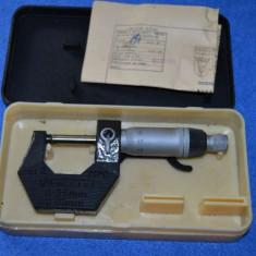 Micrometru 0-25 mm
