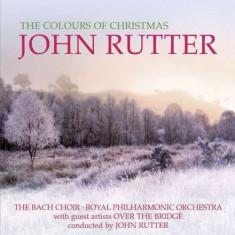J. Rutter - The Colours Of Christmas ( 1 CD ) - Muzica Sarbatori