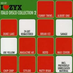Artisti Diversi - ZYX Italo Disco Coll. 2 ( 3 CD ) - Muzica Dance