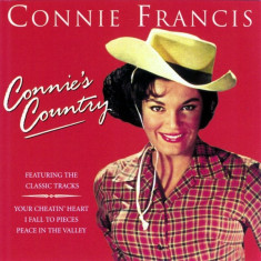 Connie Francis - Connie's Country ( 1 CD ) - Muzica Country