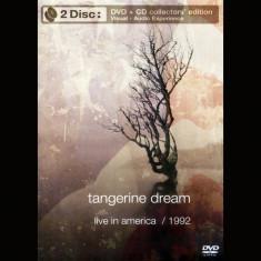 Tangerine Dream - Live in America ( 1 DVD + 1 CD ) - Muzica House