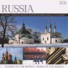V/A - Russia: Sounds of the.. ( 2 CD ) - Muzica Folk