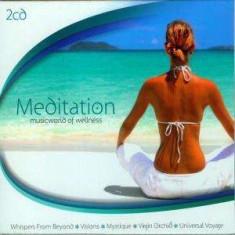 Artisti Diversi - Meditation ( 2 CD ) - Muzica Ambientala