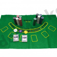 Set complet de Poker 500 jetoane - Set poker
