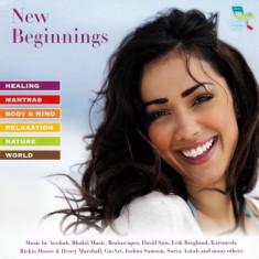 Artisti Diversi - New Beginnings ( 1 CD ) - Muzica Ambientala