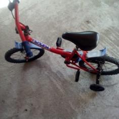 Bicicleta pentru copii - Bicicleta copii Baby Dreams, 12 inch, Numar viteze: 3
